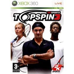Microsoft Top Spin 3 - Xbox 360 [Gebruikt]