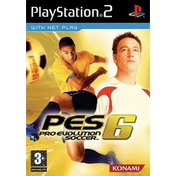 Konami PES 6 (Pro Evolution Soccer 6) [Gebruikt]