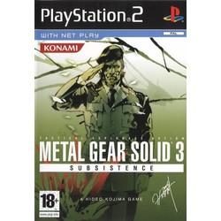 Konami Metal Gear Solid 3 Subsistence [Gebruikt]
