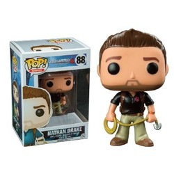 Funko pop Pop! Games: Uncharted - Nathan Drake With Naughty Dog LE