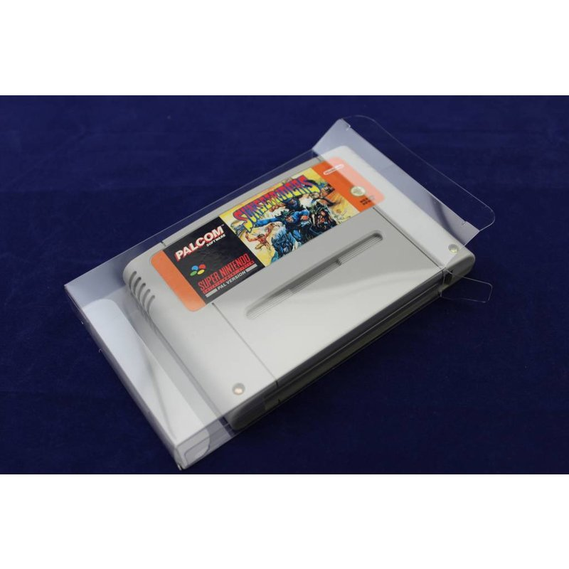 10 x Box Protectors - SNES cartridge