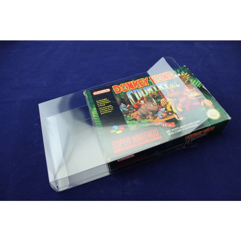 25x Box Protectors - SNES Boxes