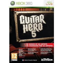 Activision Guitar Hero 5 - Xbox 360 [Gebruikt]