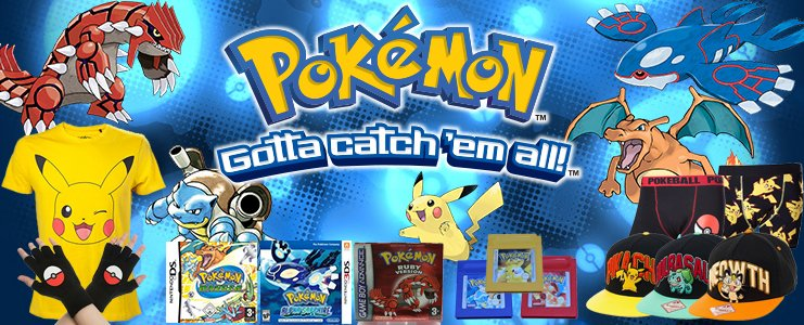 Pokemon Games en Mechandise