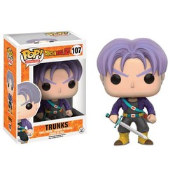 Funko pop !Pop Anime: Dragonball Z - Trunks