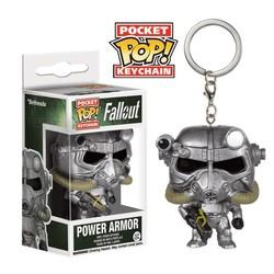 Funko pop Pocket Pop Keychains: Fallout - Power Armor