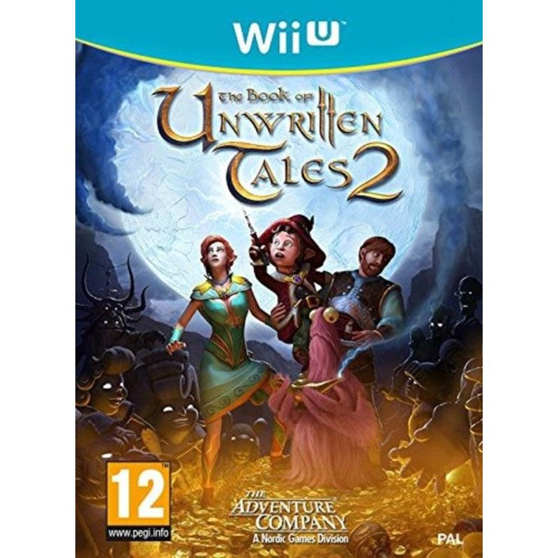 505 Games The Book of Unwritten Tales 2 - Wii U