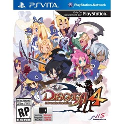 NIS Disgaea 4 - A Promise Revisited - Ps Vita
