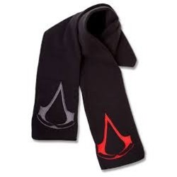 Bioworld ASSASSIN'S CREED - SCARF WITH 2 LOGOS