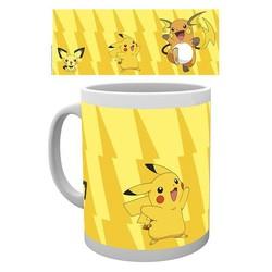 Pokemon - Pikachu Evolution Mok / mug