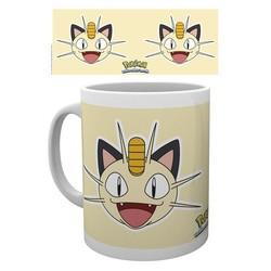 Pokemon - Meowth Face Mok / Mug
