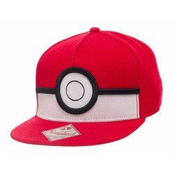 Bioworld POKÉMON - 3D Poke Ball Snapback