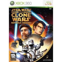 Lucasarts Star wars - The clone Wars Republic Heroes - Xbox 360 [Gebruikt]