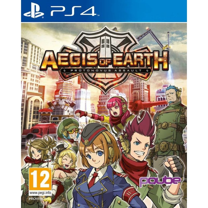 Aegis of Earth Protonovus Assault - PS4