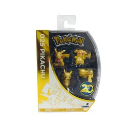 Pokemon Metallic Pikachu 4-Pack