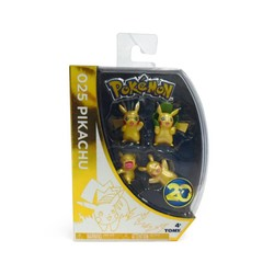 Pokemon Metallic Pikachu 4-Pack - Version 2