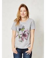 Magnolia op Bio Katoen T-Shirt