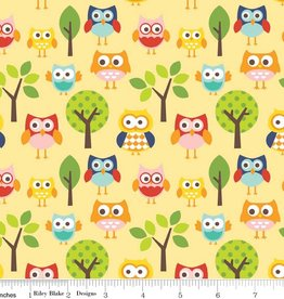 Riley Blake Lazy days Owls