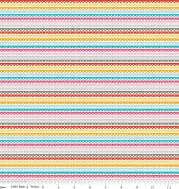 Riley Blake Girl Crazy Stripe
