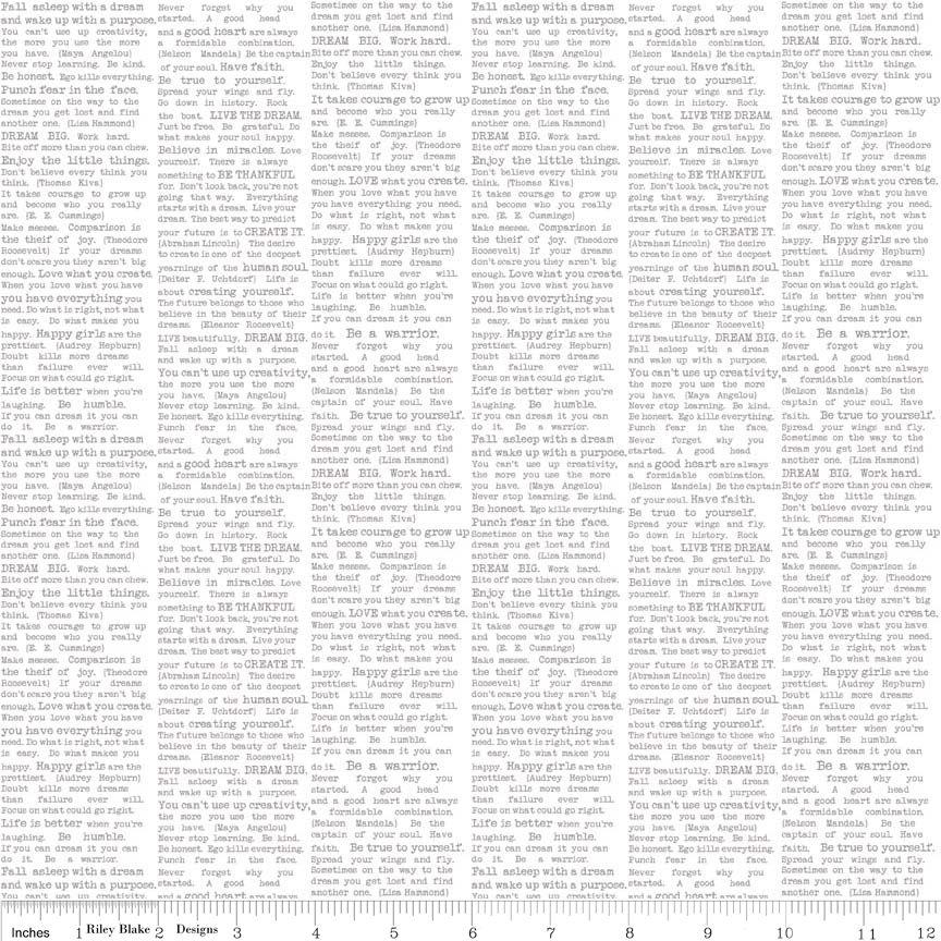 Riley Blake The Cottage Garden Newsprint