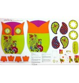 Benartex Benartex Jungle Club Pillow Owlivia