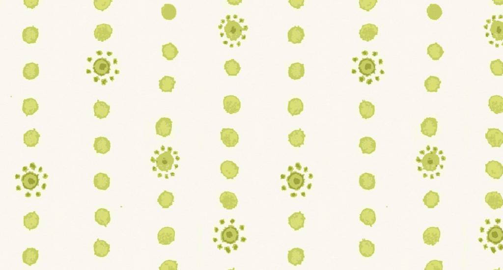 Blend Hello World Dotty Stripe green