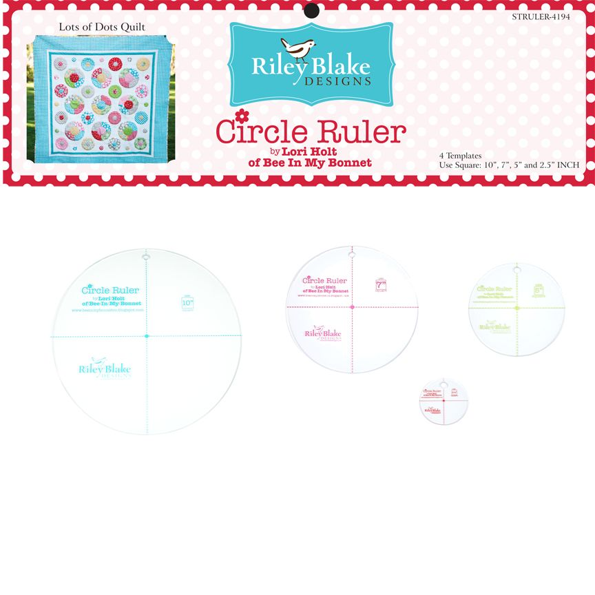Lori Holt Lori Holt: Circle ruler set