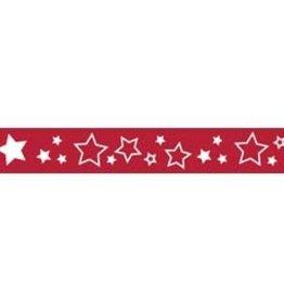 Riley Blake lint ster rood