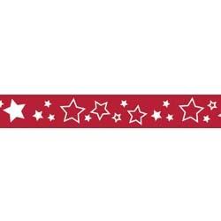 Riley Blake Lint en Bandjes: ster rood