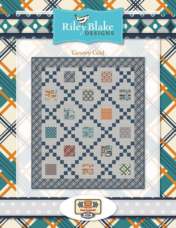 Riley Blake Riley Blake fabric Keep on groovin Plaid
