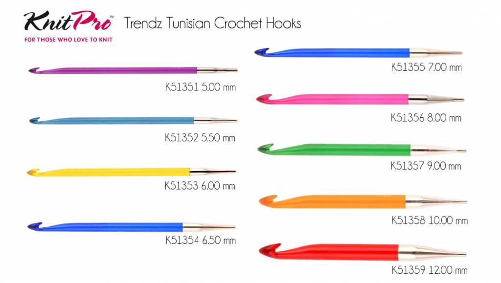 Knitpro Knitpro tunische haaknaald Trendz