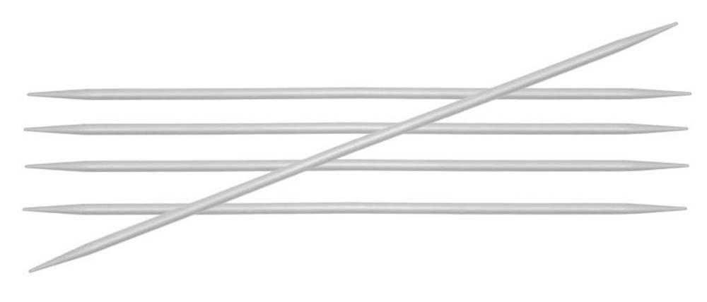 Knitpro Knitpro Basix Aluminium sokkennaalden 15cm