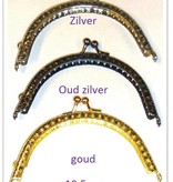 Opry knipsluiting, zilverkleurig