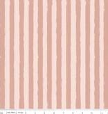 Penny Rose blush Sparkle stripe pink