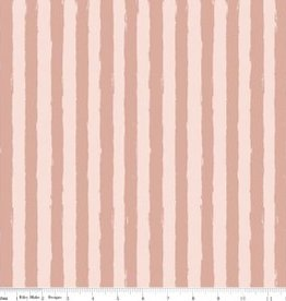 Penny Rose Blush Sparkle stripe pink