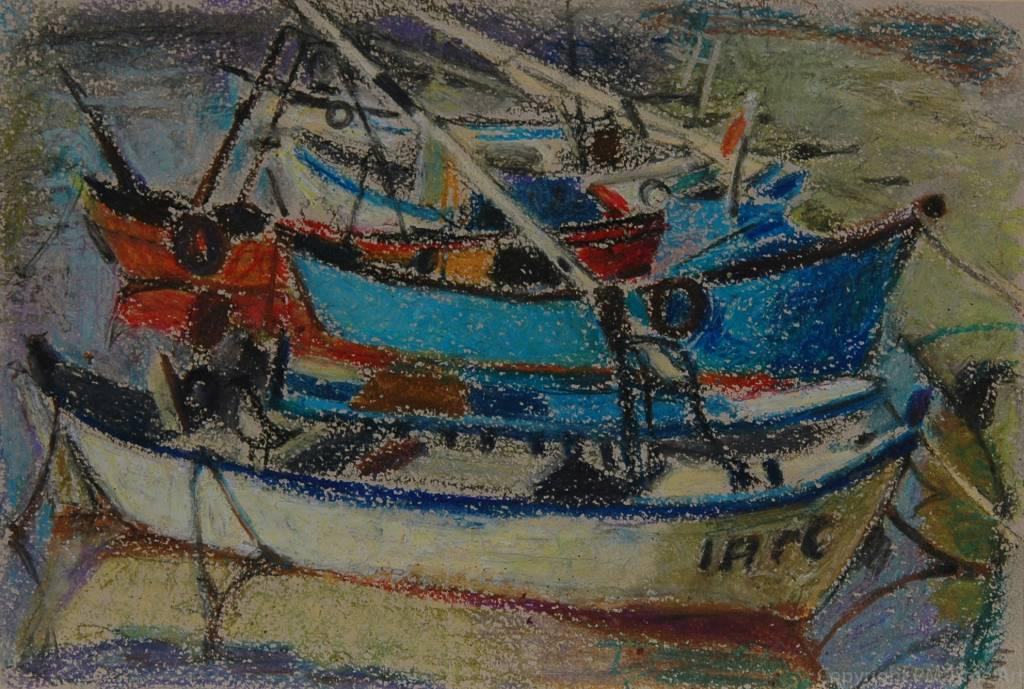 Elena Epifanova Morning boats