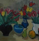 Vera Elnitskaya Still life with tulips