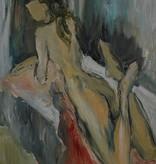 Vera Elnitskaya Laying nude