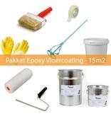 Coatingwinkel Pakket Epoxy Vloercoating 2-laags - 15m2