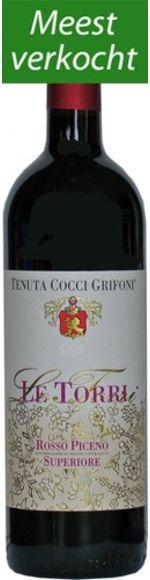 Le Torri - Rosso Piceno Superiore DOC - Tenuta Cocci Grifoni
