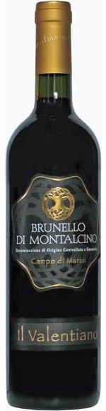 BRUNELLO DI MONTALCINO DOCG - CAMPO DI MARZO - 2011 - AZ. AGR. IL VALENTIANO