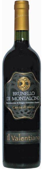 Brunello di Montalcino DOCG - Campo di Marzo - 2009 - Az. Agr. Il Valentiano