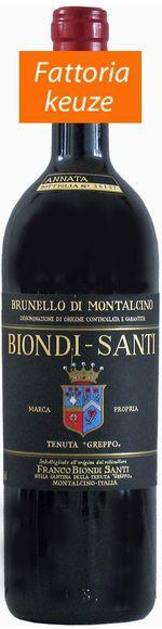 Brunello di Montalcino DOCG 2007 Annata - Tenuta Greppo - Biondi Santi