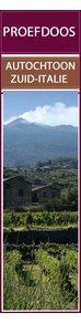 Proefdoos autochtone druivenrassen - Rood - Zuid Italië