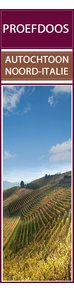 Proefdoos autochtone druivenrassen Rood Noord Italië