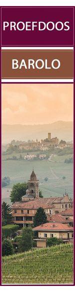 Proefdoos met 6 verschillende Barolo's, de koning der wijnen.
