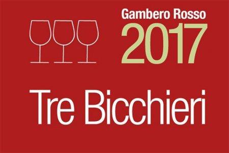 3 Bicchieri Gambero Rosso 2017
