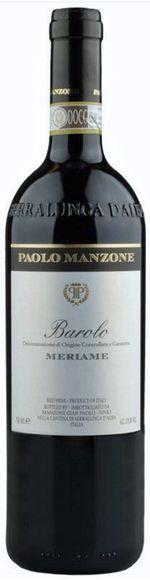 Manzone Paolo Barolo DOCG - Serralunga - Meriame
