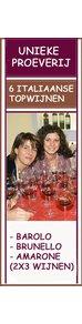 Workshop - Barolo - Brunello - Amarone - Wineweekend zondag 26 november 2017