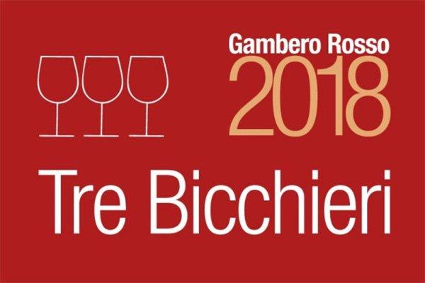 Tre Bicchieri - Gambero Rosso 2018 - Hoogst gewaardeerde wijnen